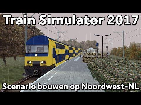 Train Simulator 2017: Scenario bouwen op Noordwest Nederland v4.0!