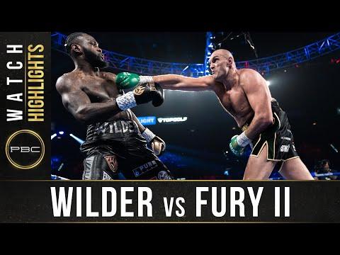 Wilder vs Fury 2 HIGHLIGHTS: February 22, 2020