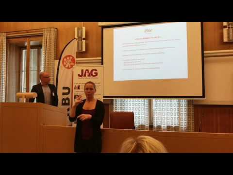 Mathias Blombergs anförande i sin helhet - Personlig assistans, är det en rättighet eller möjlighet?