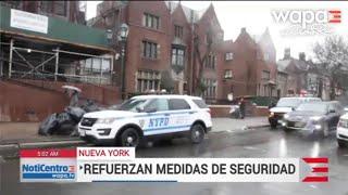 Nueva York: Refuerzan la seguridad por ataque a judíos en