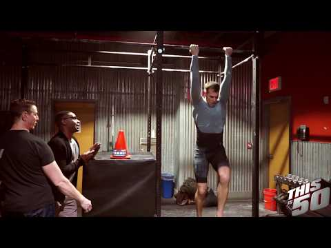 50 Cent's Trainer Jay Cardiello Attempts To Break The 1-Minute Chin Up World Record