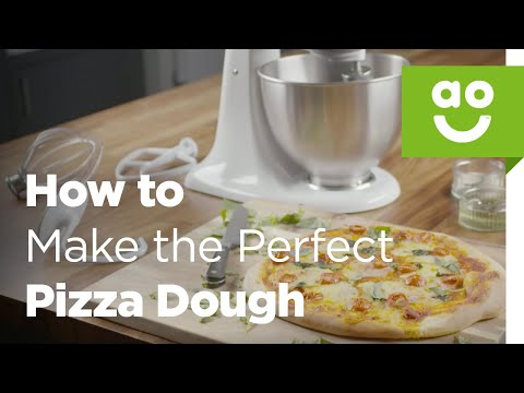 How to Make the Perfect Pizza Dough with KitchenAid | Bake Tips | ao.com