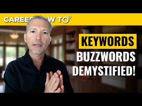 How to Handle Resume Buzzwords Versus Keywords photo
