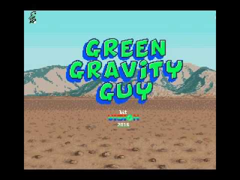 Green Gravity Guy