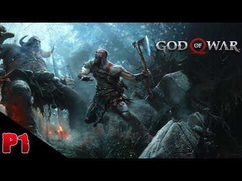 God Of War 4 - Kratos Vs Dauoi kaupmaor: Walkthrough (Part 1) *Boss Fight*