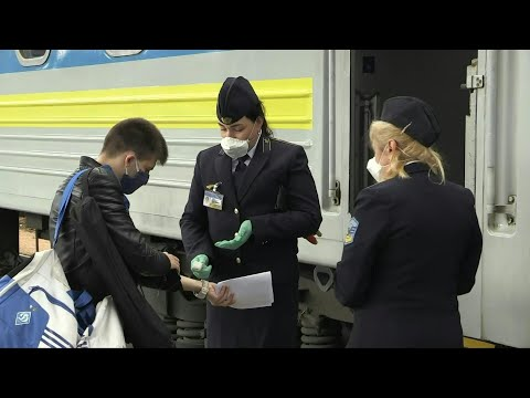 COVID-19: Ukraine relaunches rail links | AFP
