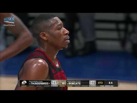 Big Sky Men's Basketball Championship Game #3 End of 3rd OT