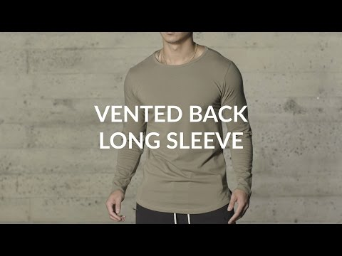 Aesthetic Revolution |  Vented Back Long Sleeve