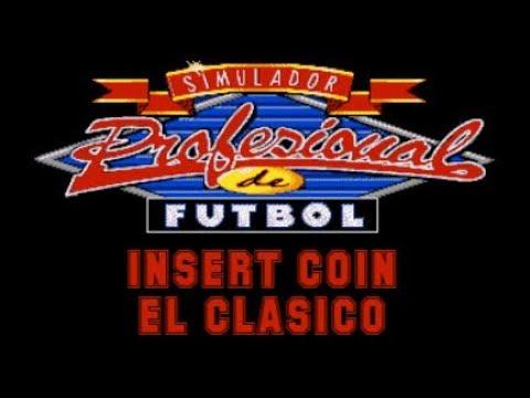 Simulador Profesional de Fútbol (1992) - PC - El Clásico