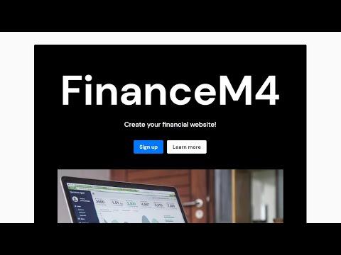 Mobirise Financial Website Theme | FinanceM4