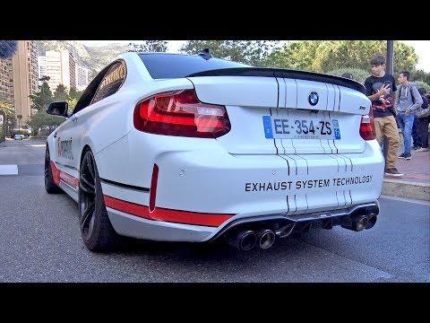 BMW M2 F87 w/ Akrapovic Titanium Exhaust! REVS & ACCELERATIONS!