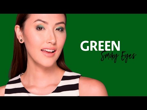 Play, Experiment, Transform with Green Smokey Eyes