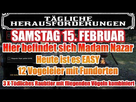 Samstag 15. Februar Täglichen Herausforderung Dailys Nazar Red Dead Redemption 2 Online