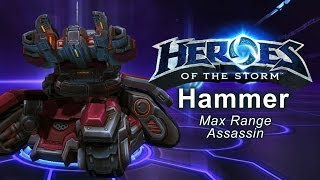 Heroes of the Storm - 'Max Range Assassin' Hammer Build