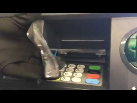 APD shows ATM tampering technique