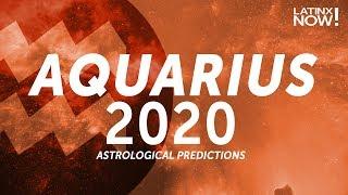 AQUARIUS 2020 Horoscope Predictions | Latinx Now! | Telemundo English