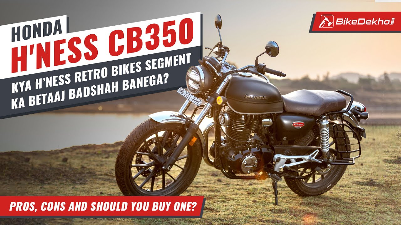 Honda CB350 H'Ness: Pros, Cons and Should You Buy One? | Better than a Royal Enfield? | In Hindi