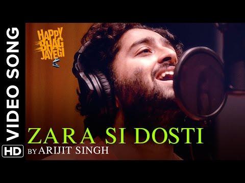 ZARA SI DOSTI LYRICS - Happy Bhag Jayegi | Arijit Singh