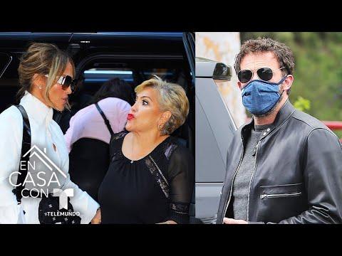 Mamá de Jennifer Lopez pasa un divertido momento junto a Ben Affleck   Telemundo