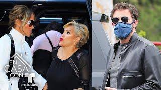Mamá de Jennifer Lopez pasa un divertido momento junto a Ben Affleck | Telemundo