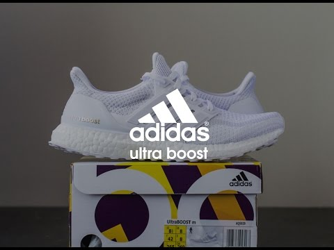 11784699a36 ... 2.0) Download youtube to mp3  Unboxing and On Foot Review  Adidas Ultra  Boost  Triple ...