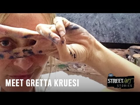 STREET ART STORIES | Gretta Kruesi |