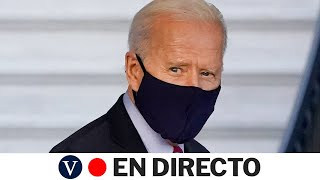 DIRECTO: Biden participa en una visita virtual a un centro de vacunación