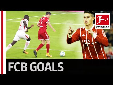 Lewandowski and James Fire Bayern Back On Top