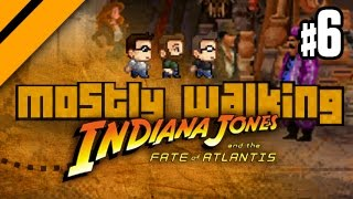 Mostly Walking - Indiana Jones and the Fate of Atlantis - P6