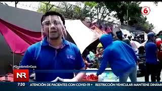 Piden permitir el ingreso de 546 nicaragüenses varados en frontera norte