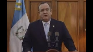 Pdte. Alejandro Giammattei decreta Estado de Prevención en Chimaltenango