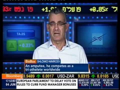 שלמה נמרודי מתראיין ב-Bloomberg TV