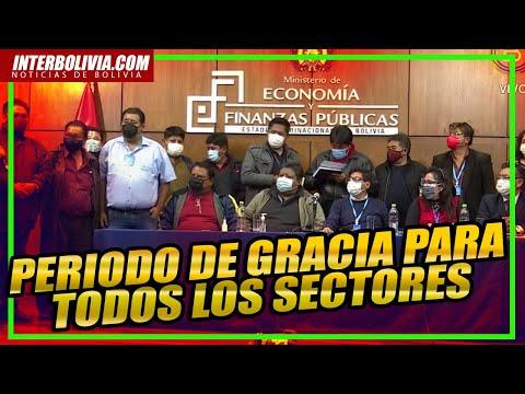 DIRECTO: Min. economía anuncia que los prestatarios tendrán 6 meses de periodo de gracia