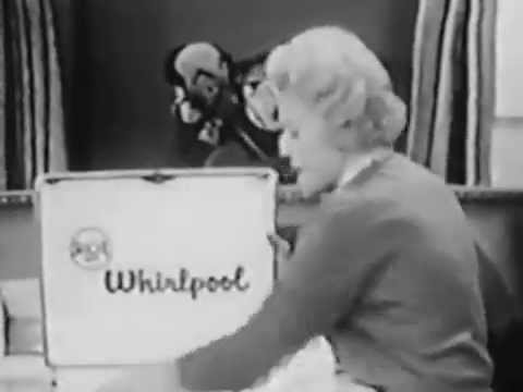VINTAGE 1956 RC WHIRLPOOL AD with KUKLA, FRAN & OLLIE with BEULAH the WITCH L