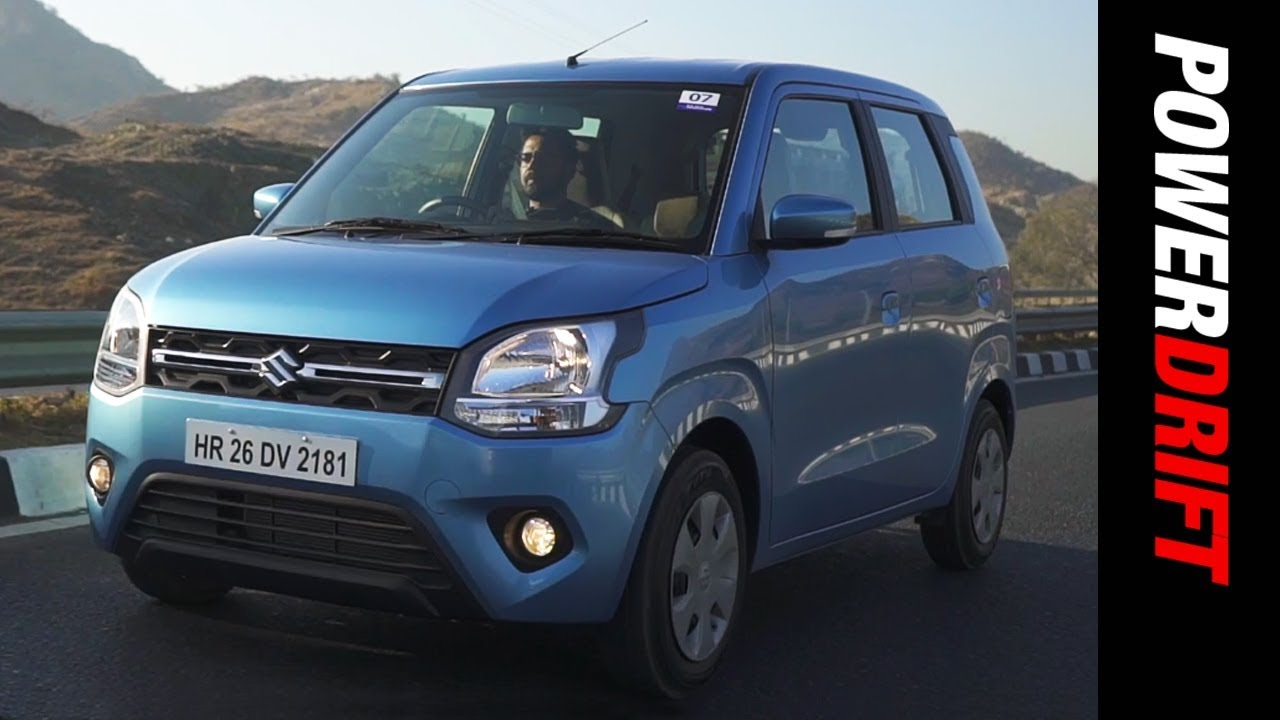 2019 Maruti Suzuki Wagon R : The car you start your day in : PowerDrift