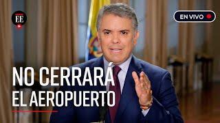 Presidente Iván Duque habla sobre las medidas económicas ante emergencia por coronavirus