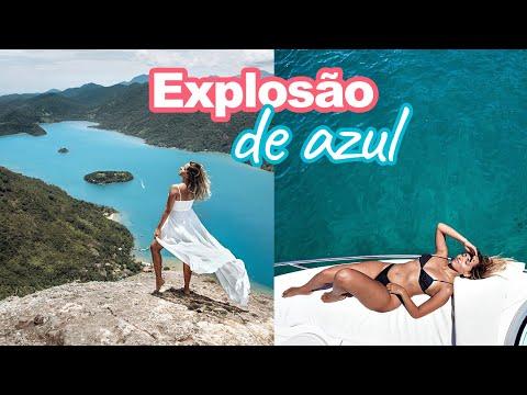 SACO DO MAMANGUÁ E AS MELHORES PRAIAS DE PARATY NO PASSEIO DE LANCHA | Prefiro Viajar