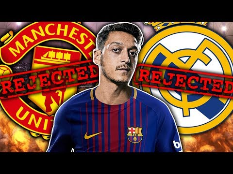 BREAKING: Barcelona CLOSE To Signing Mesut Ozil In January! | Transfer Talk