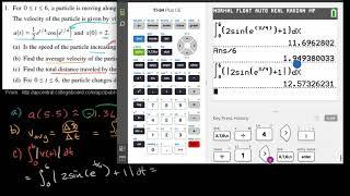 2011 Calculus AB Free Response #1 parts b c d | AP Calculus AB | Khan Academy