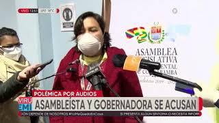 Piden a la Fiscalía investigar audio que atribuyen a gobernadora de Cochabamba