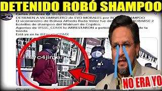"""EX MINISTRO RADA """"CAE PRESO EN MEXICO POR ROBAR 2 SHAMPOO"""" ALFREDO OCTAVIO RADA???? QUE OPINAS TÚ?"""
