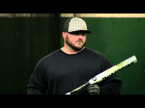 Chris Larsen Swings the 2014 DeMarini Stadium 2.1 Video