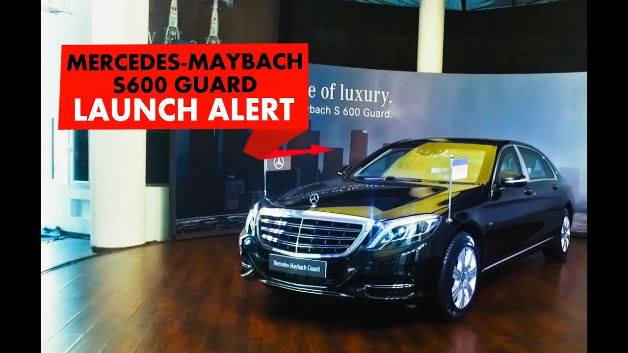 Launch Alert : Mercedes Maybach S600 Guard : PowerDrift