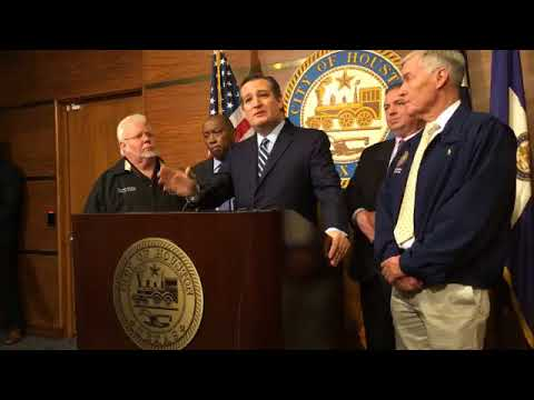 Sen. Cruz Joins Houston Mayor Turner Promoting Harvey Tax Relief for Storm Victims