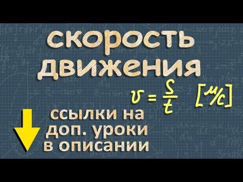 mp Реферат на тему легкая атлетика  to mp3 Скорость движения формула ➽ Физика 7 класс ➽ Видеоурок ➽ Перышкин