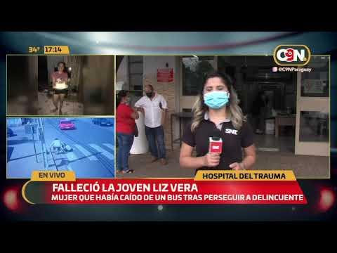 La inseguridad de cada día: Falleció la joven Liz Vera