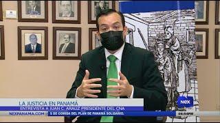 Entrevista a Juan Carlos Araúz, sobre el estado crítico de la justicia en Panamá