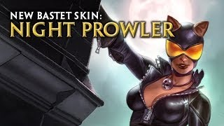 Smite - Bastet Night Prowler Skin Trailer