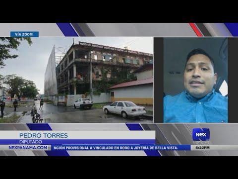 Entrevista Diputado Pedro Torres en relación al proyecto de ley en la provincia de Colón
