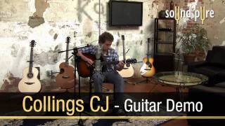 Collings CJ Acoustic Guitar Video Review
